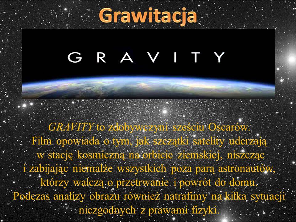 Grawitacja GRAVITY to zdobywczyni sześciu Oscarów.