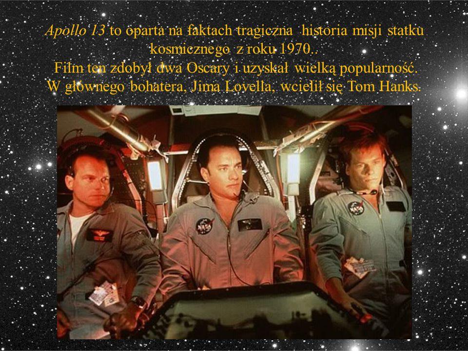 Apollo 13 to oparta na faktach tragiczna historia misji statku kosmicznego z roku 1970..