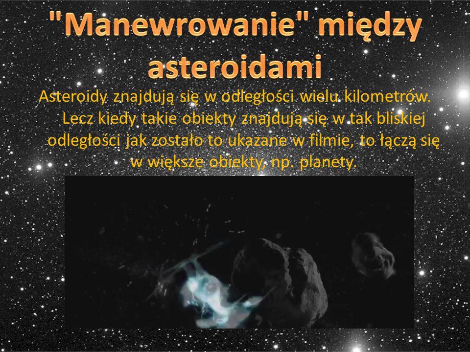 Manewrowanie między asteroidami