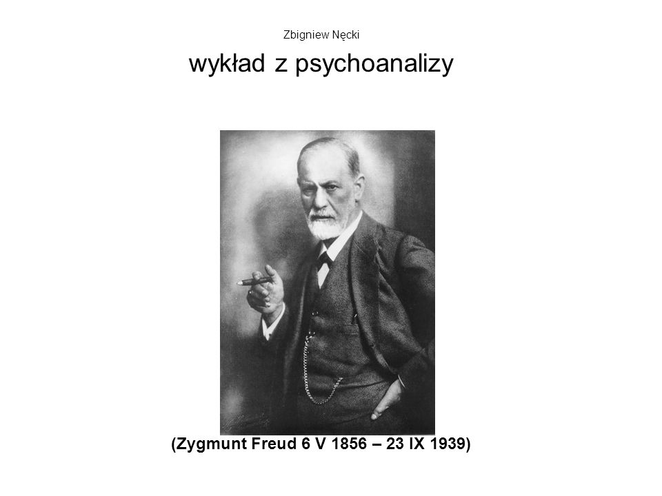 wykład z psychoanalizy
