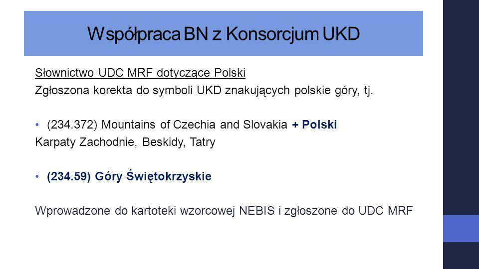 Współpraca BN z Konsorcjum UKD