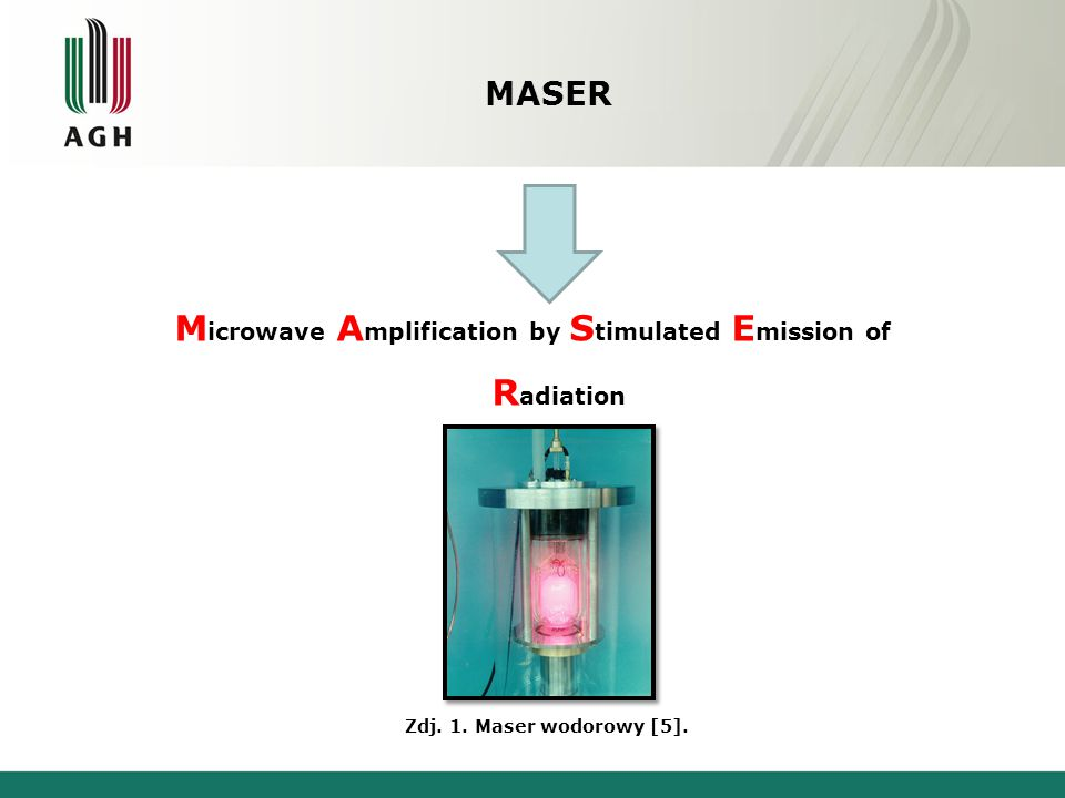 Microwave Amplification by Stimulated Emission of Radiation