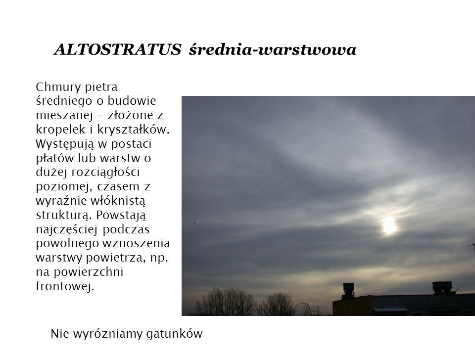 ALTOSTRATUS średnia-warstwowa