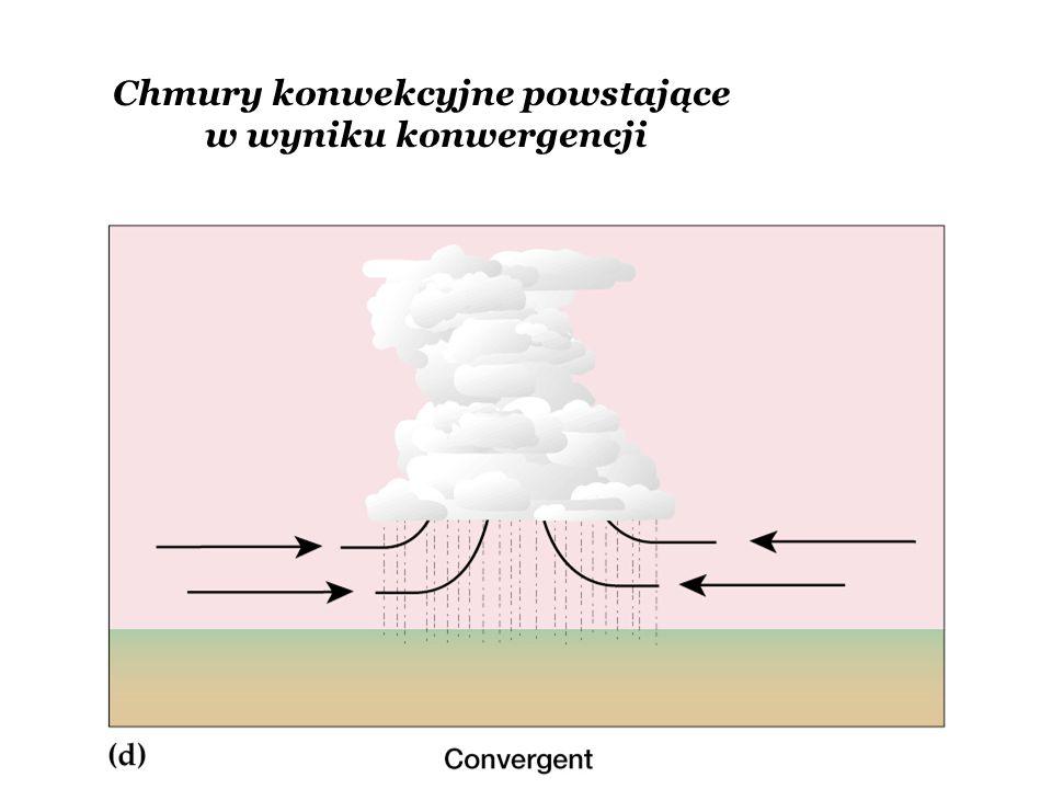 Chmury konwekcyjne powstające