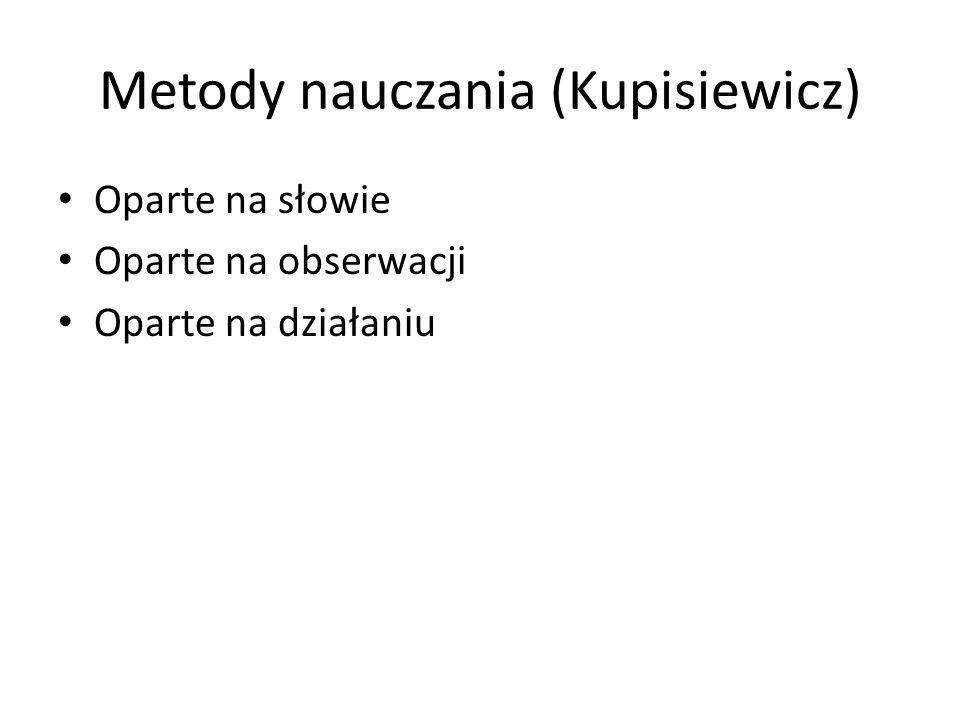 Metody nauczania (Kupisiewicz)
