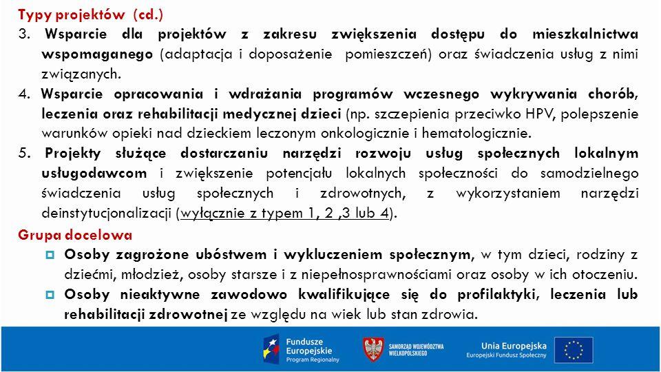 Typy projektów (cd.)