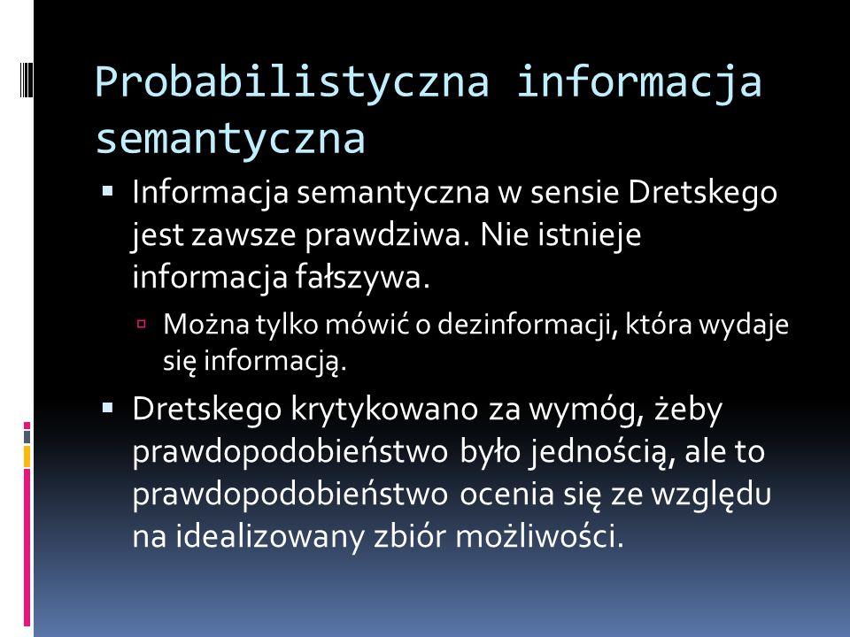 Probabilistyczna informacja semantyczna