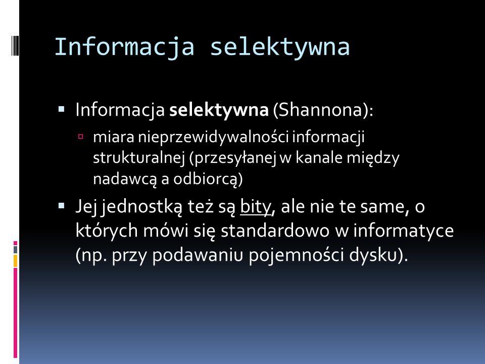 Informacja selektywna