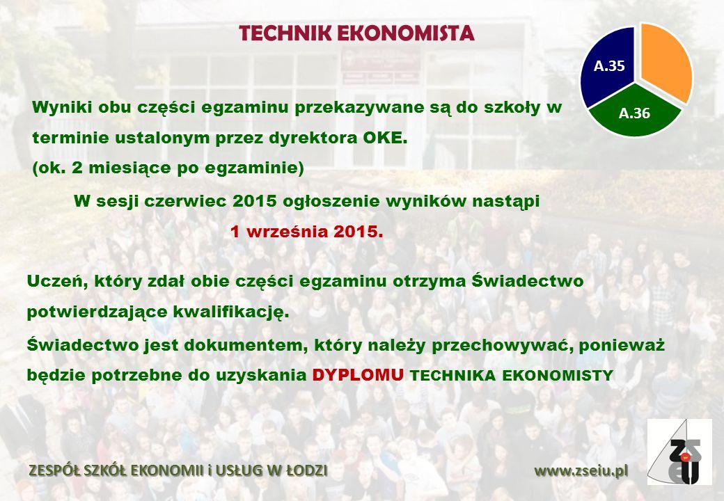 TECHNIK EKONOMISTA A.36. A.35.