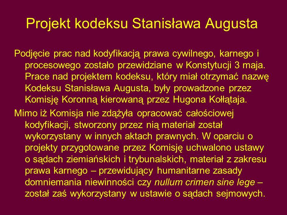 Projekt kodeksu Stanisława Augusta