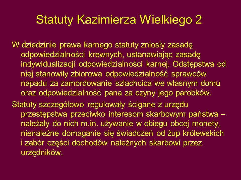 Statuty Kazimierza Wielkiego 2