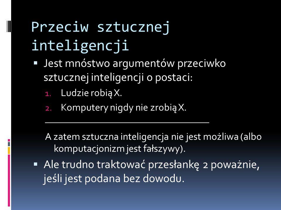 Przeciw sztucznej inteligencji