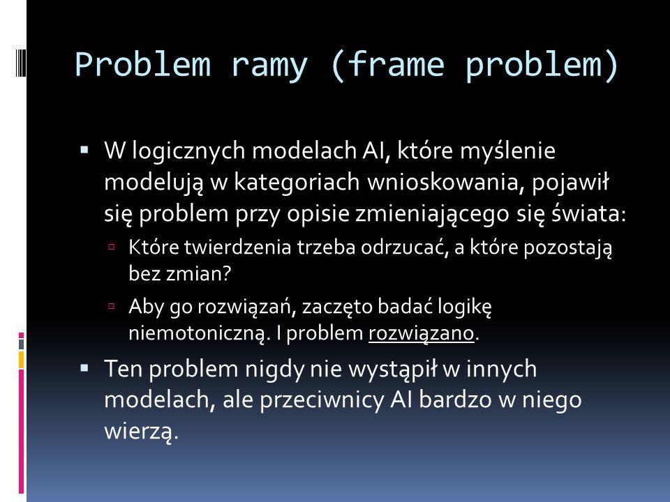 Problem ramy (frame problem)