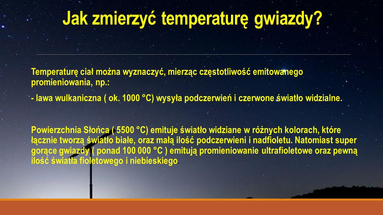 Jak zmierzyć temperaturę gwiazdy