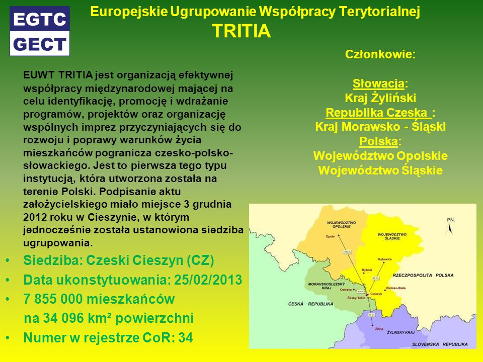 Europejskie Ugrupowanie Współpracy Terytorialnej TRITIA