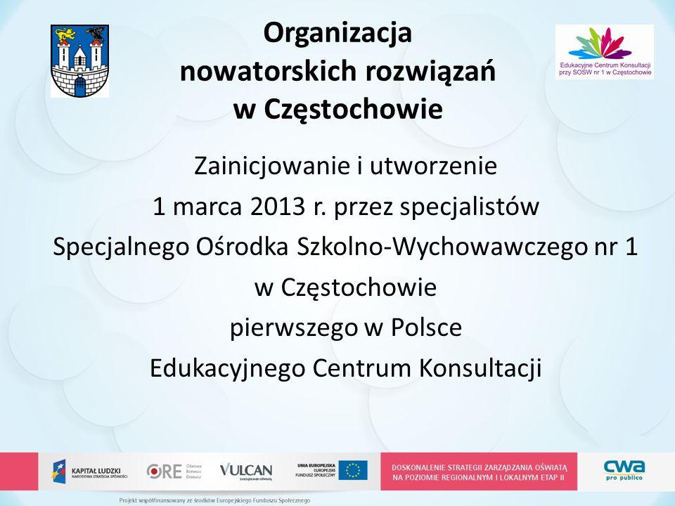 Organizacja nowatorskich rozwiązań w Częstochowie