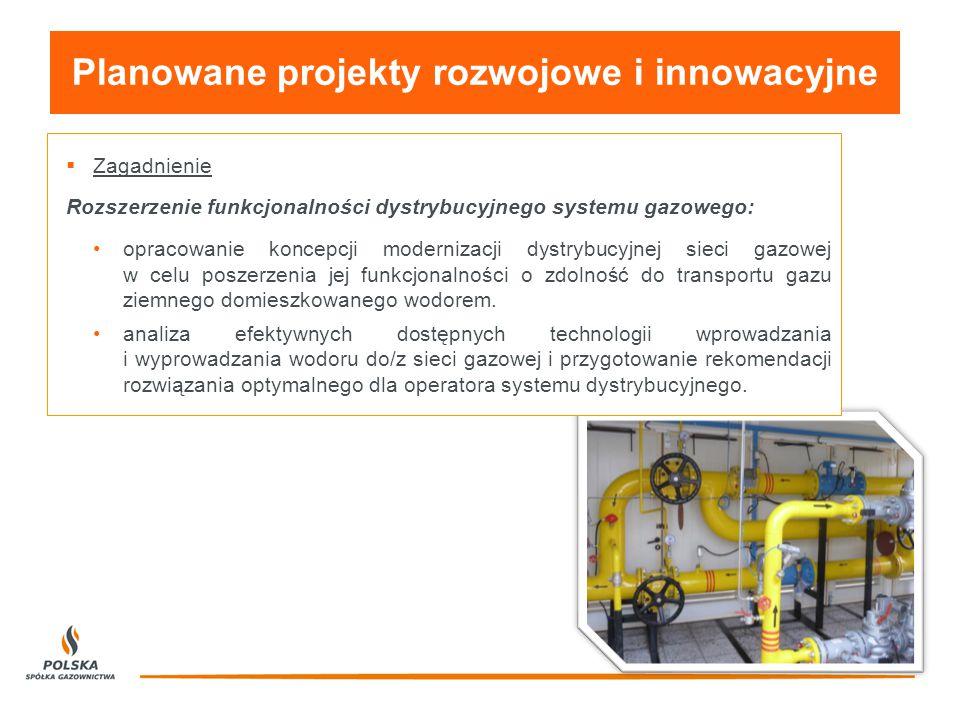 Planowane projekty rozwojowe i innowacyjne