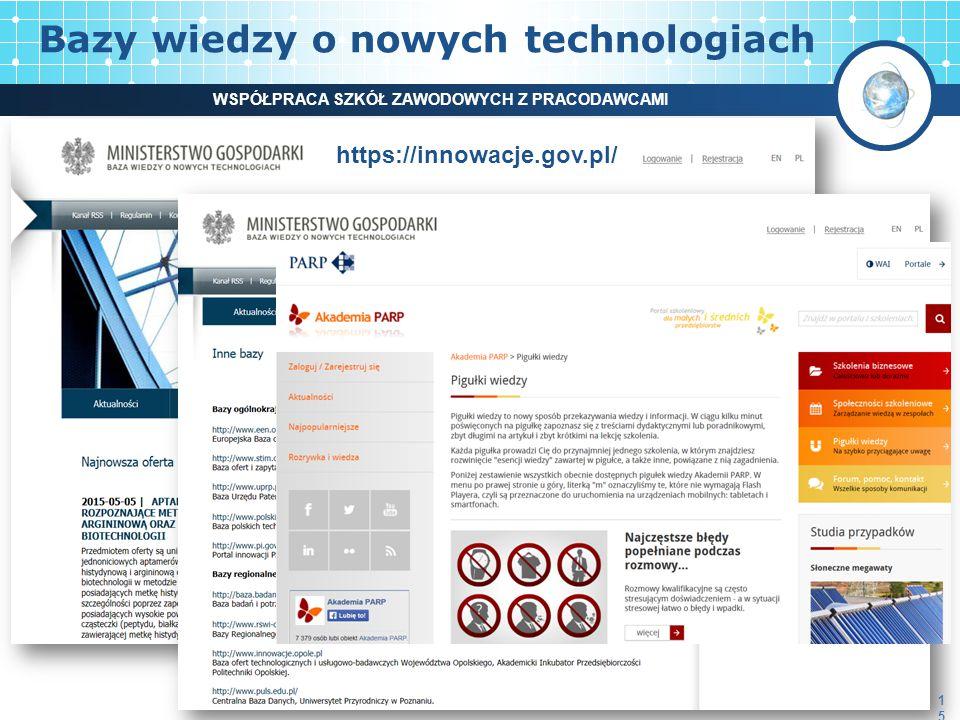 Bazy wiedzy o nowych technologiach