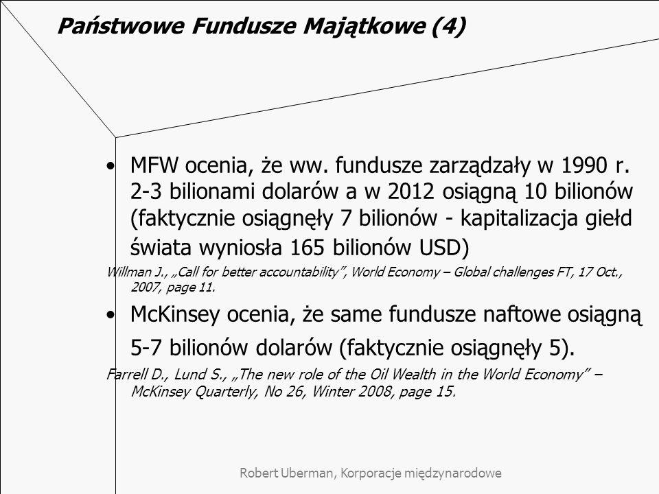Państwowe Fundusze Majątkowe (4)