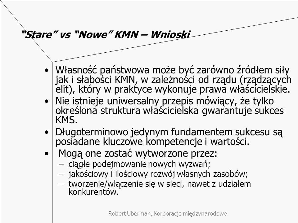 Stare vs Nowe KMN – Wnioski