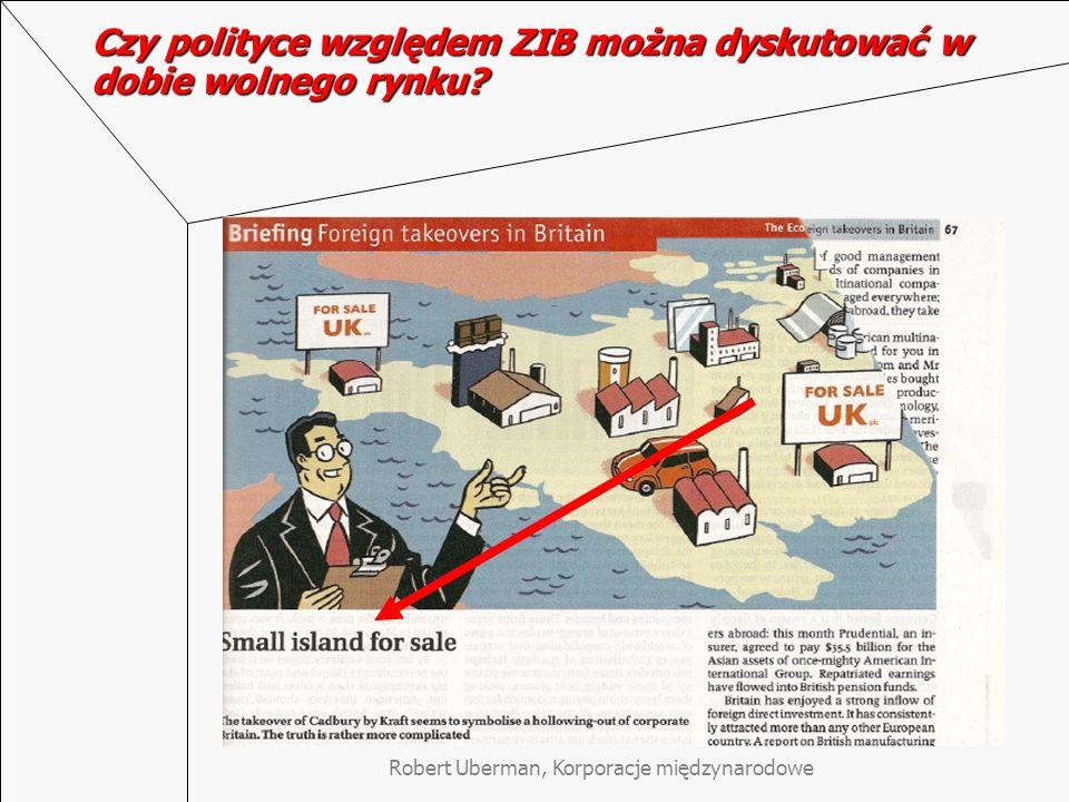 Czy polityce względem ZIB można dyskutować w dobie wolnego rynku