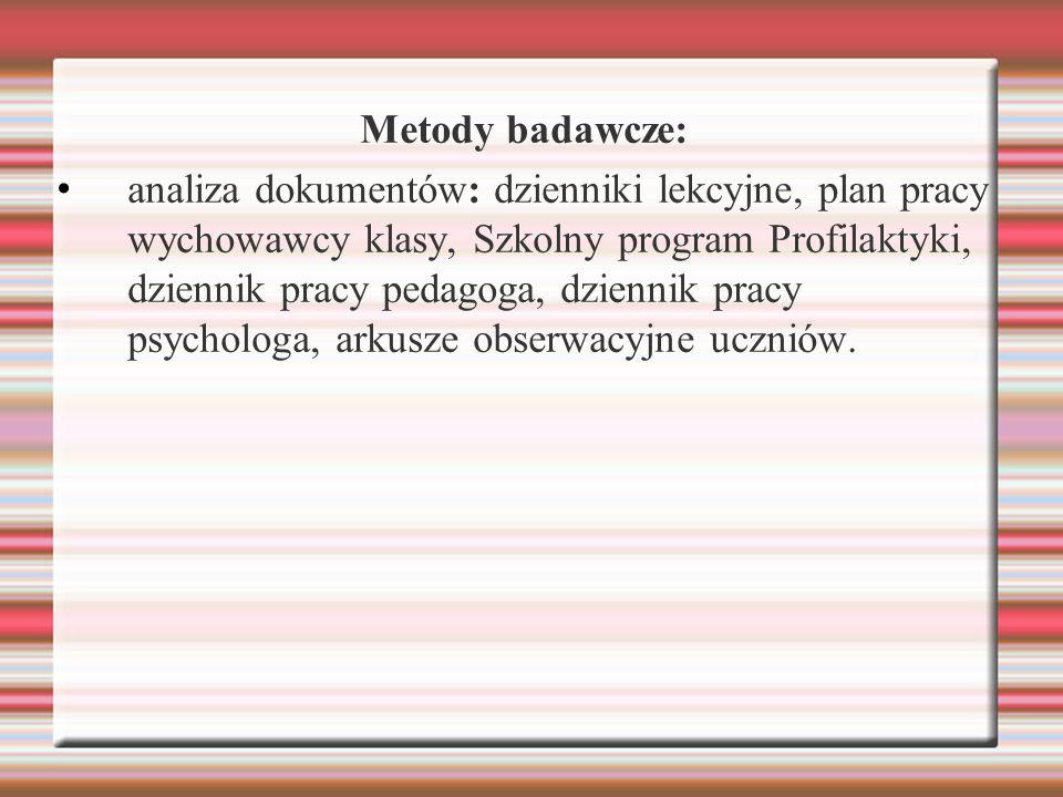 Metody badawcze: