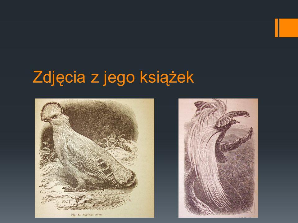 Zdjęcia z jego książek
