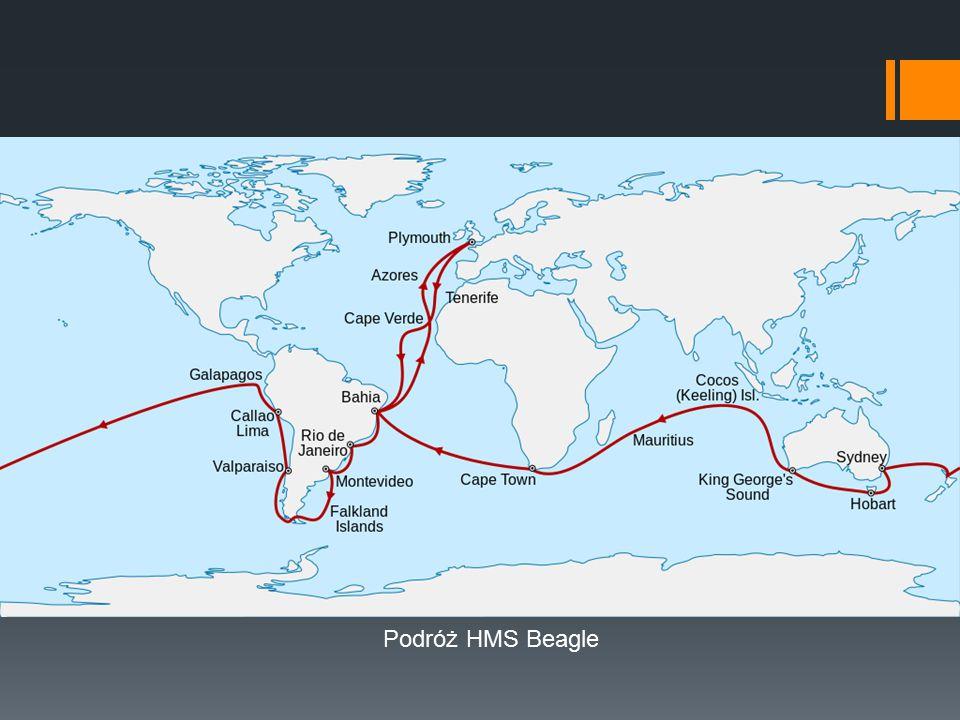 Podróż HMS Beagle