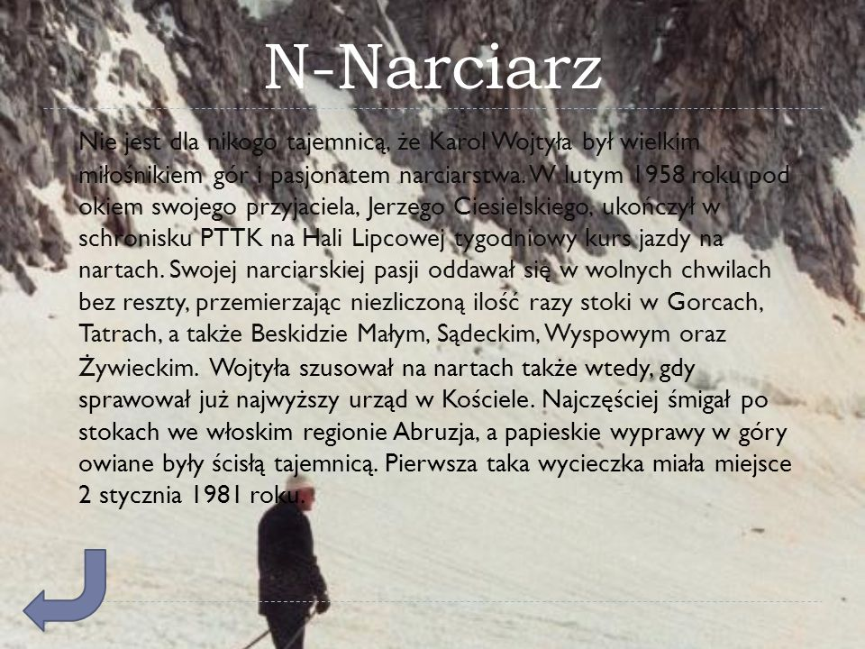 N-Narciarz