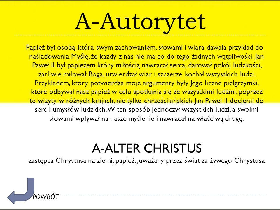 A-Autorytet