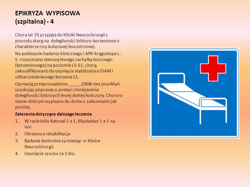 EPIKRYZA WYPISOWA (szpitalna) - 4