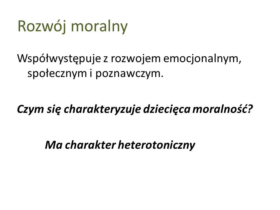 Rozwój moralny