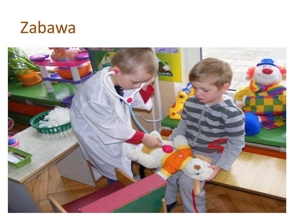 Zabawa Podstawową aktywnoścą dzieci w wieku przedszkollnym jest zabawa.