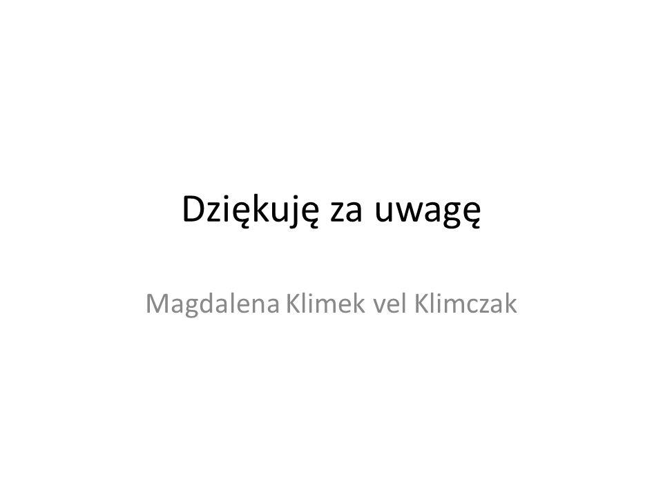 Magdalena Klimek vel Klimczak