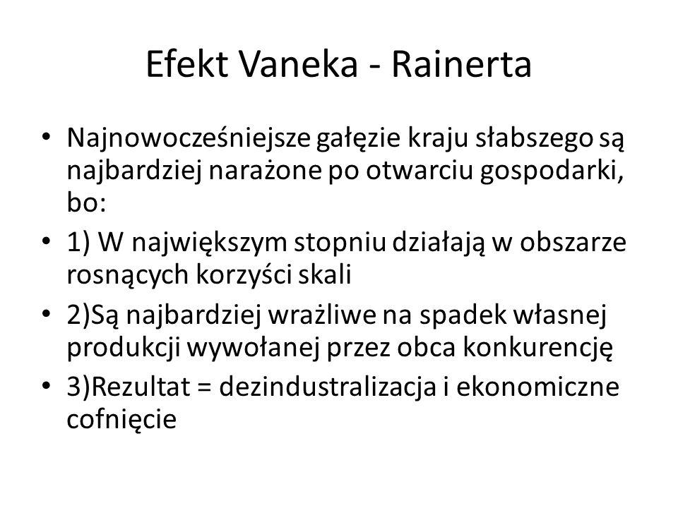 Efekt Vaneka - Rainerta