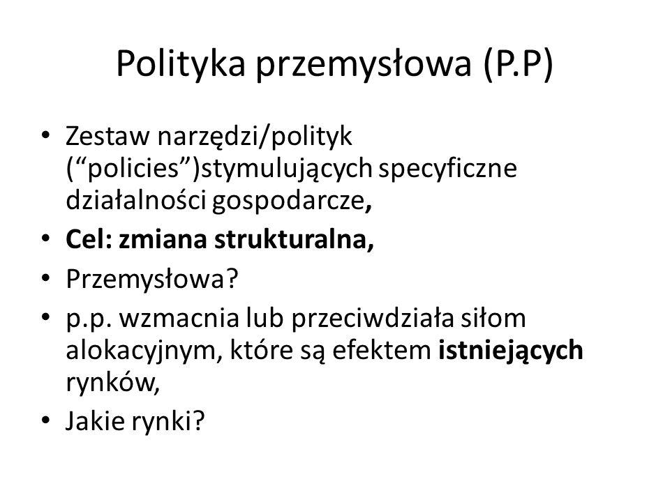 Polityka przemysłowa (P.P)