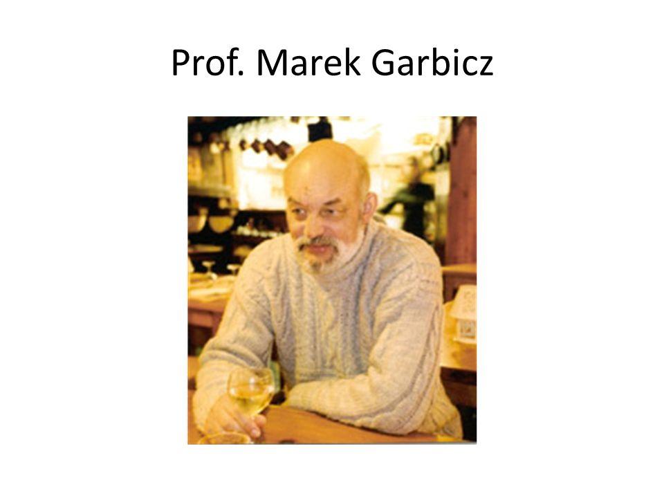 Prof. Marek Garbicz