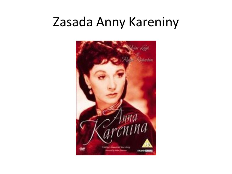 Zasada Anny Kareniny