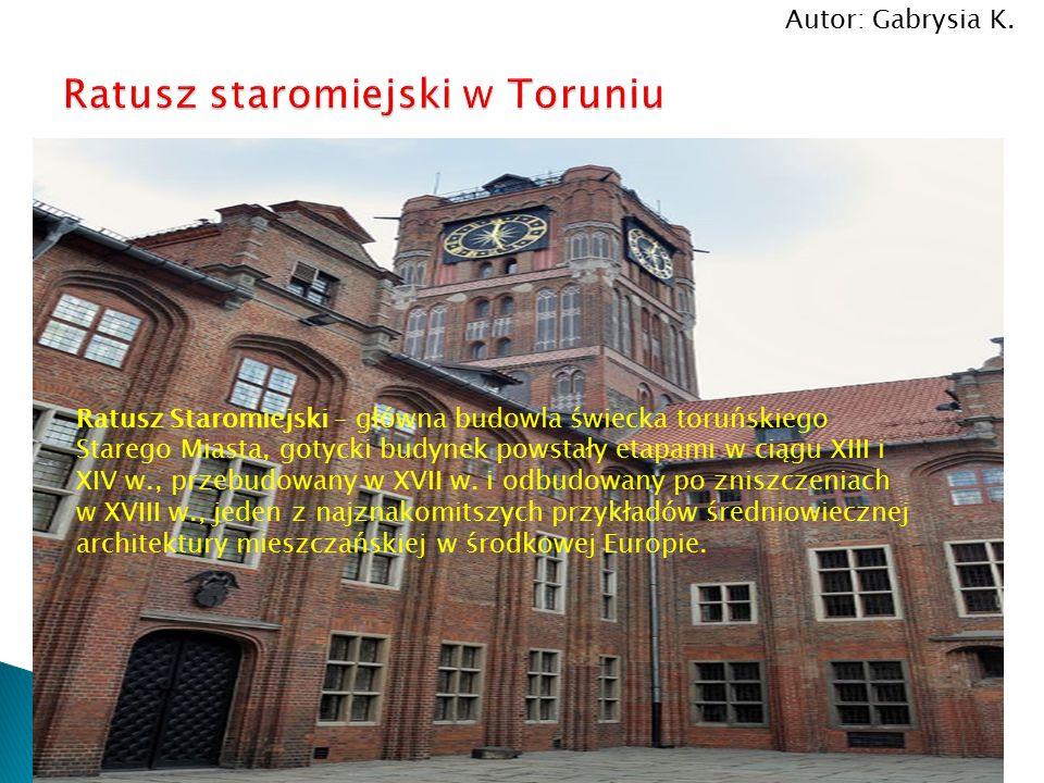 Ratusz staromiejski w Toruniu