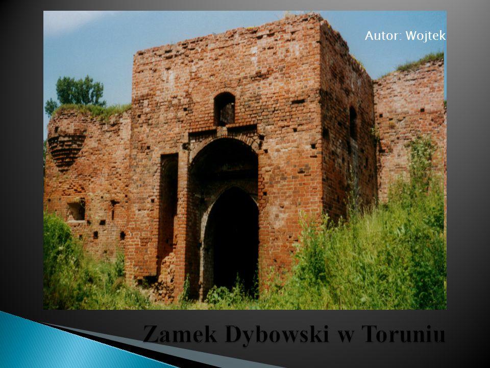 Zamek Dybowski w Toruniu