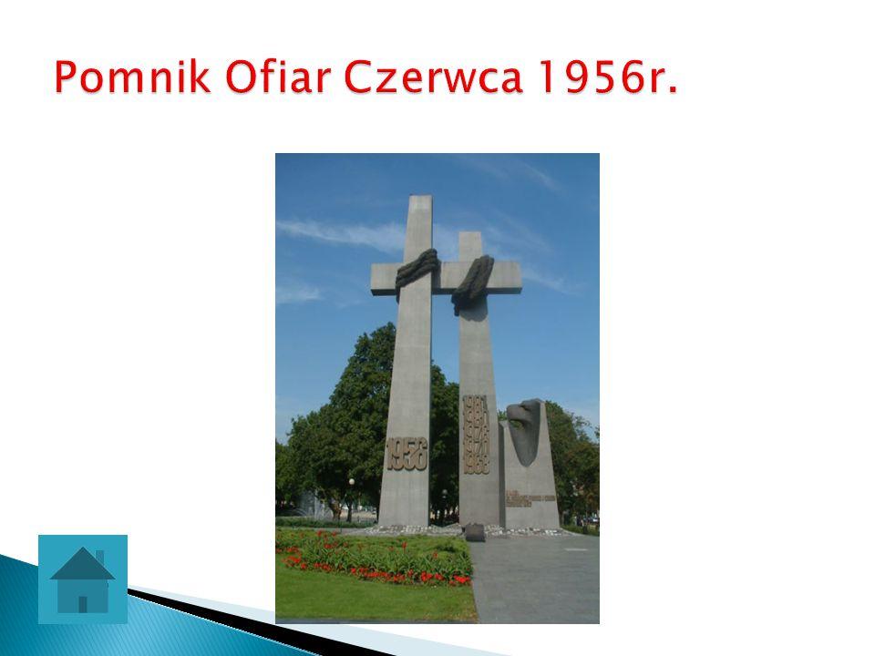 Pomnik Ofiar Czerwca 1956r.