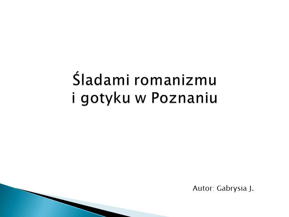 Śladami romanizmu i gotyku w Poznaniu