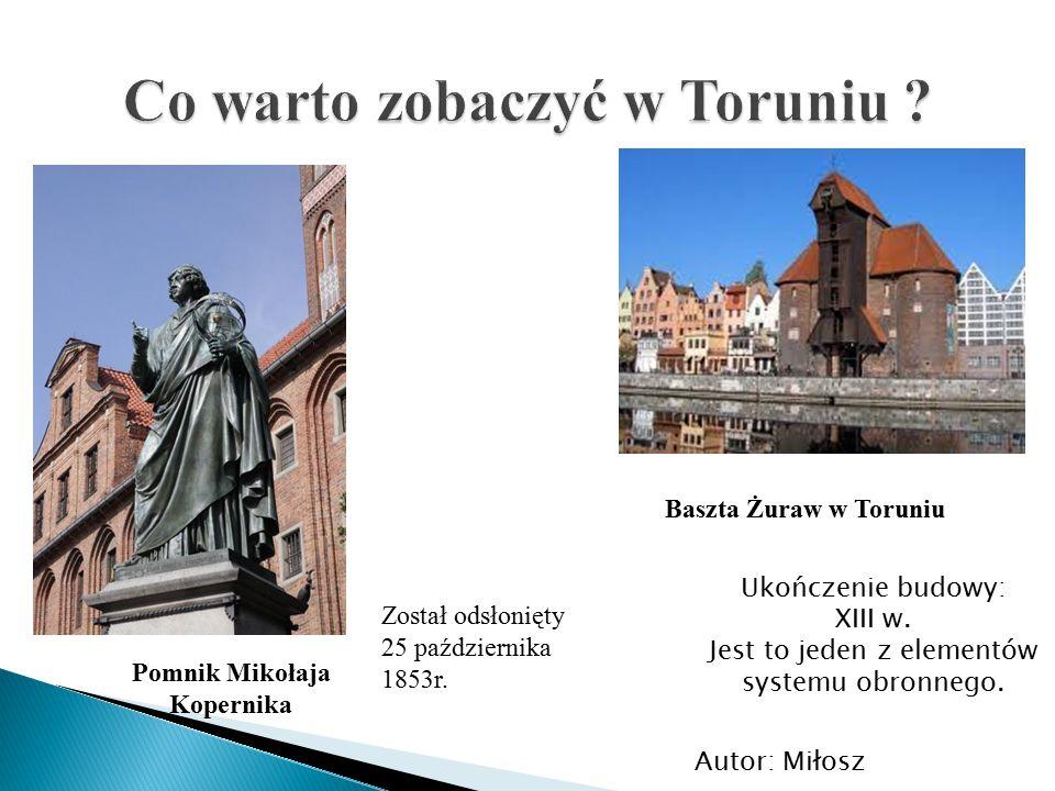 Co warto zobaczyć w Toruniu