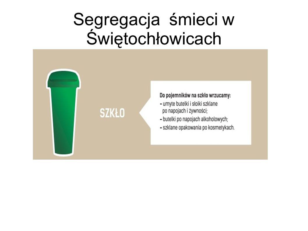 Segregacja śmieci w Świętochłowicach