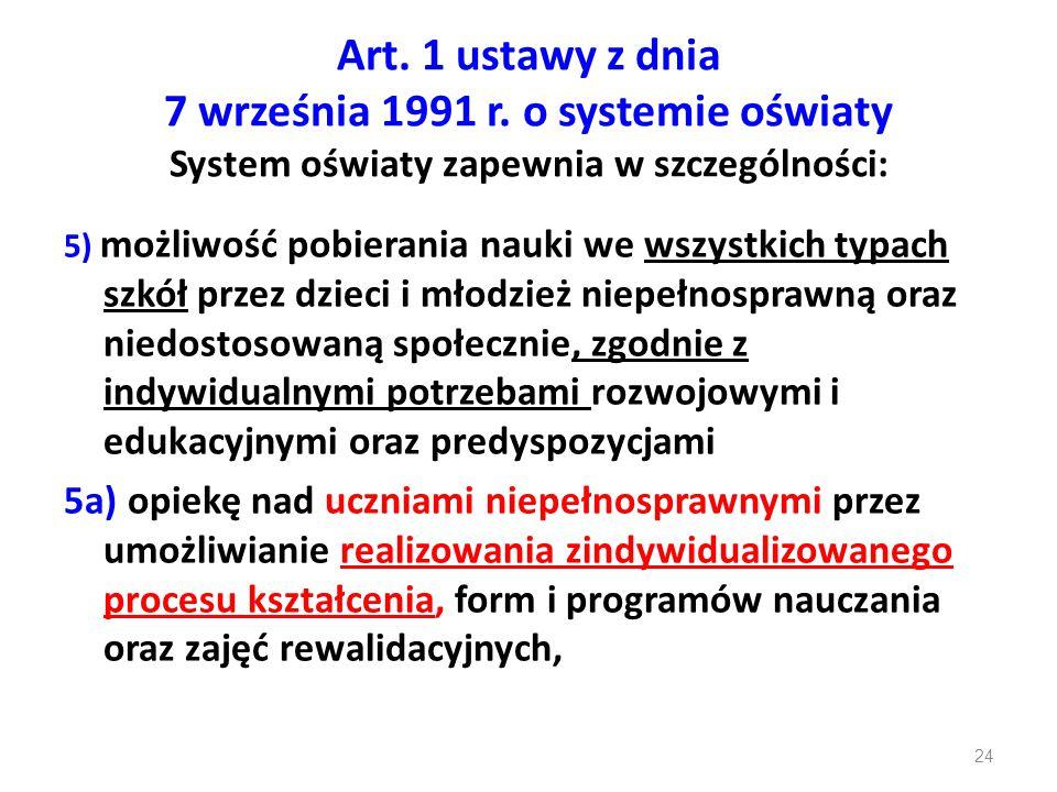 Art. 1 ustawy z dnia 7 września 1991 r