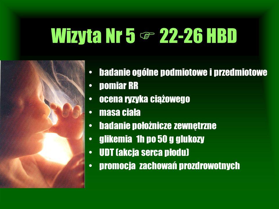 Wizyta Nr 5  22-26 HBD Wizyta Nr 1