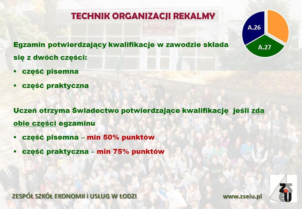 TECHNIK ORGANIZACJI REKALMY