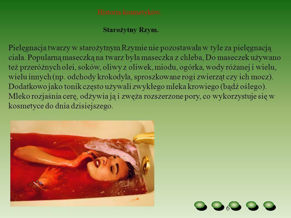 Historia kosmetyków. Starożytny Rzym.