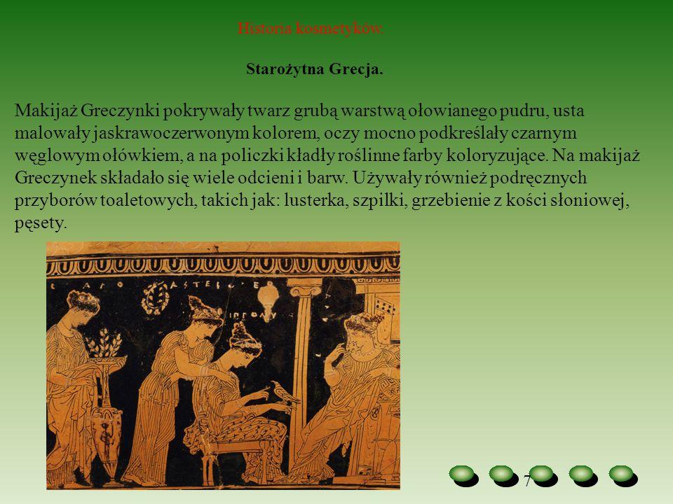 Historia kosmetyków. Starożytna Grecja.