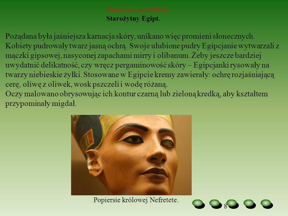 Historia kosmetyków. Starożytny Egipt.